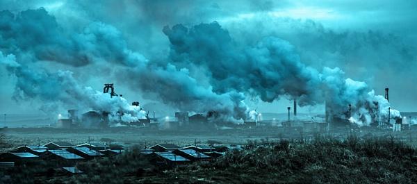 murky steelworks by kenwil