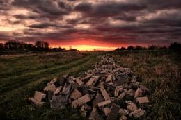 Fenland Sunset