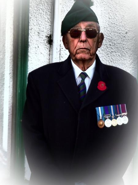 Remembrance Day Veteran. by kojack