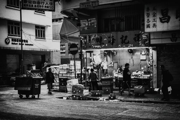 Early AM, Hong Kong by JohnnyG