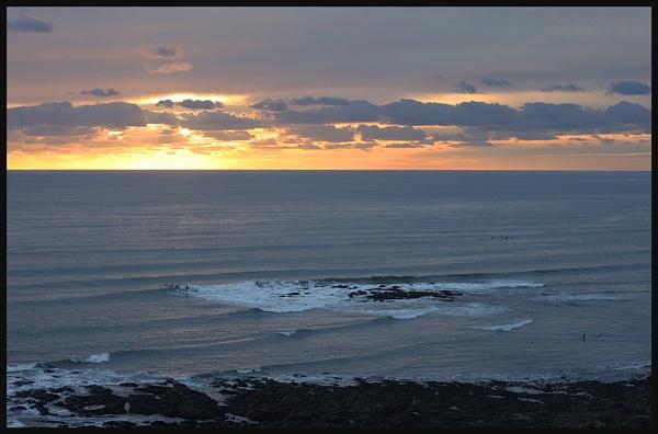 November Sunset by Morpyre