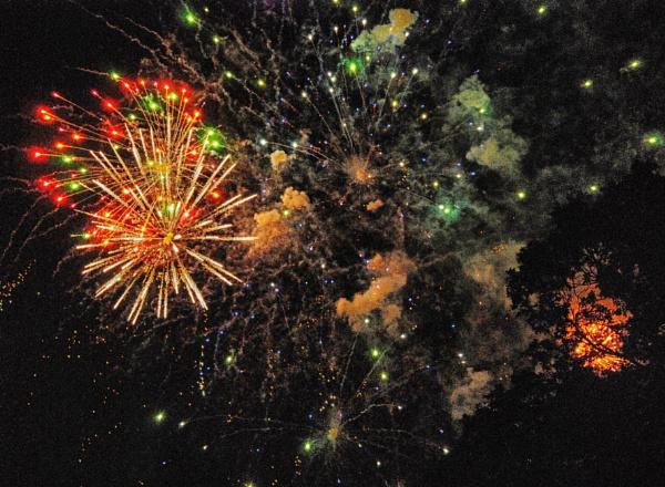 Fireworks by KrazyKA