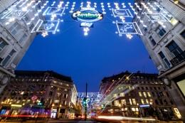 Oxford street lights...