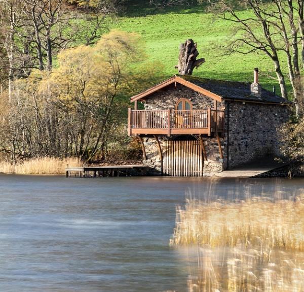 Ullswater boathouse by Bigpoolman
