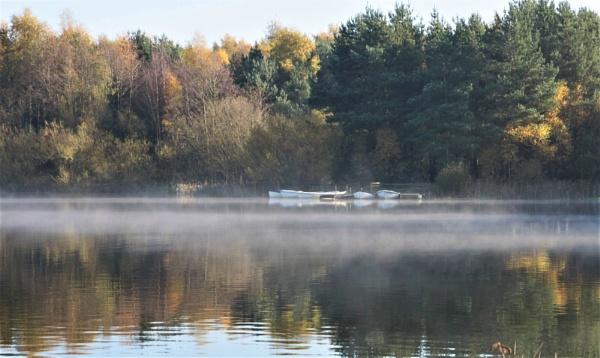 A misty start by loves2travel