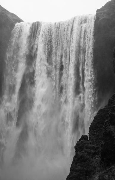 waterfall mono by sjk123