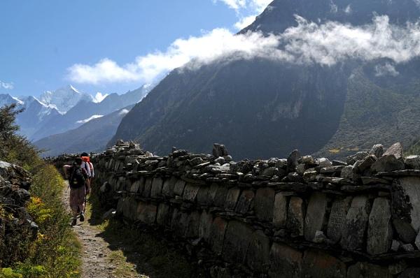 Prayer Wall, Langtang by viscostatic