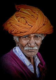 Old Rajasthani Farmer