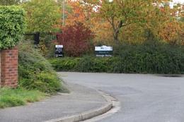 Shireoaks Marina Entrance