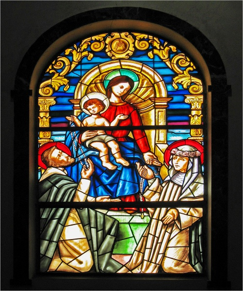 Church Stained Glass Window by mudge
