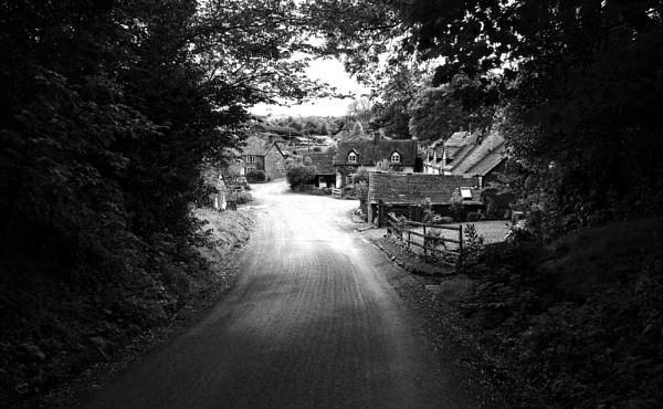 Walking to Picklescott village by peterellison
