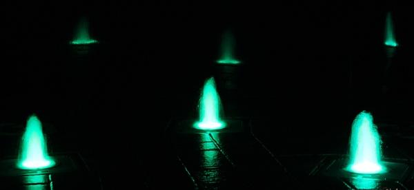 night fountain #4 by babajoshua