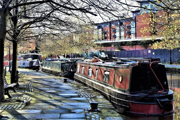 bridgewater canal castlefield by raygregson