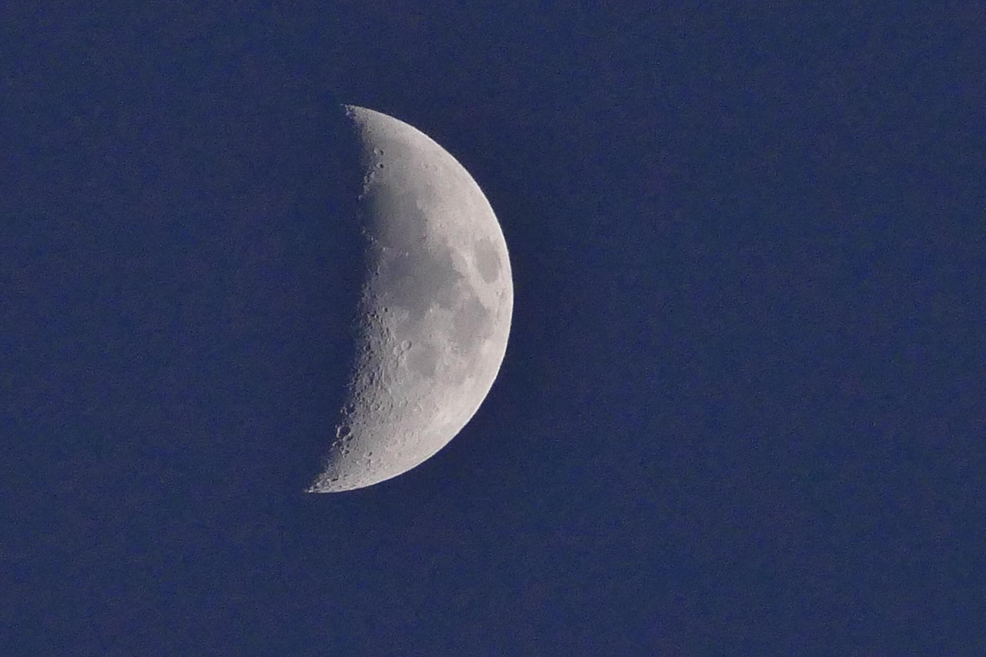 Half a moon