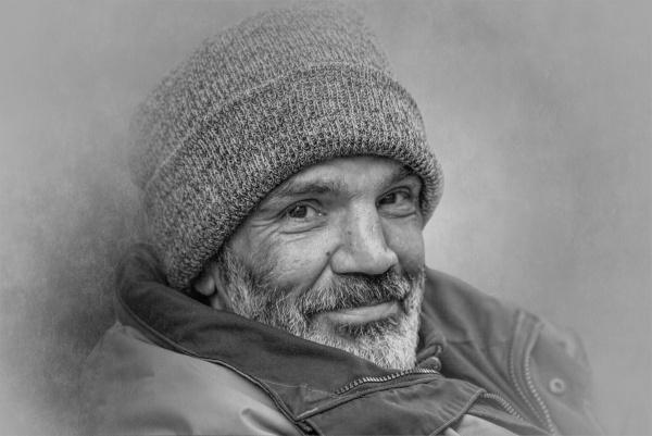 Street portrait by EddieDaisy