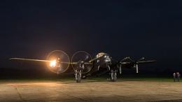 Engine start Lancaster
