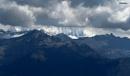 Mountain Peaks as seen from Bhutan by debu