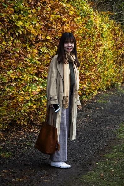 Pretty Girl in Pollok Park by Irishkate
