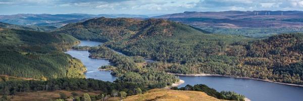 Loch Beinn a\' Mheadhoin by CliffGreen