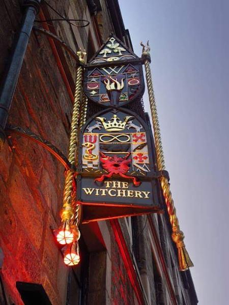The Witchery restaurant by Eckyboy
