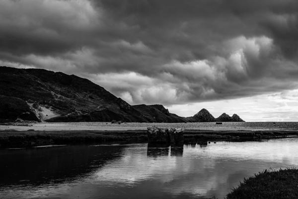 Three Cliffs Bay by billmyl