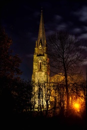 Nightshot of church