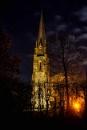 Nightshot of church by AlanJ