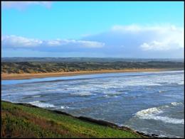 Saunton sands,North Devon.