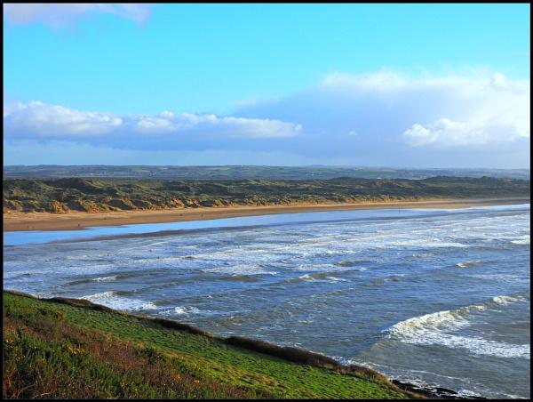 Saunton sands,North Devon. by brandish