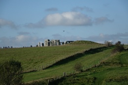 Stonehenge from a distance