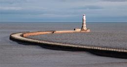 Roker Harbour (taken from beach)