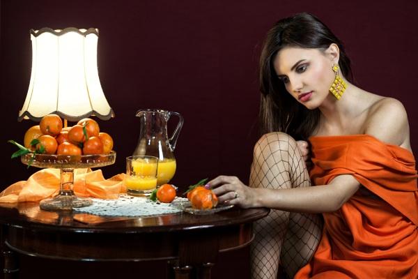 Orange by Rucsandra