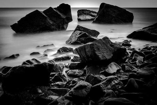 Sea & Boulders by jasinclair