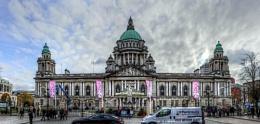 Belfast City Hall - full frontal