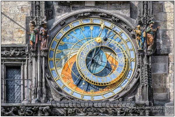 Prague Astronomical Clock by TrevBatWCC