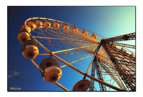 Blackpool Big Wheel by Sheddy