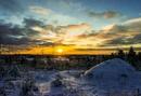 Morning sun . by kuvailija