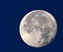 Western Horizon Moon by tonyguitar