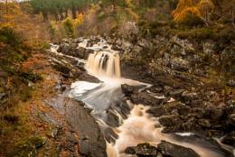 Falls of Rogie, Autumn