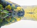 Zalacsányi-tó tükröződése