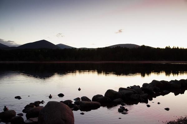 Loch Morlich Sunset by widtink