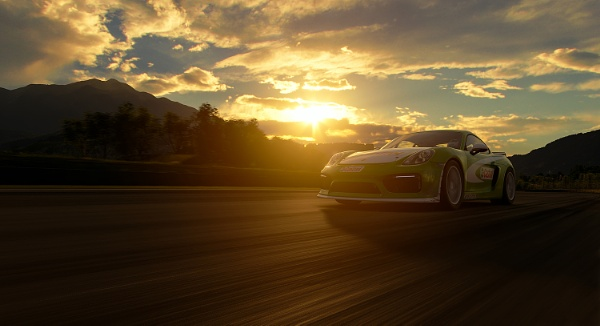 Racing at sunset by clintnewsham