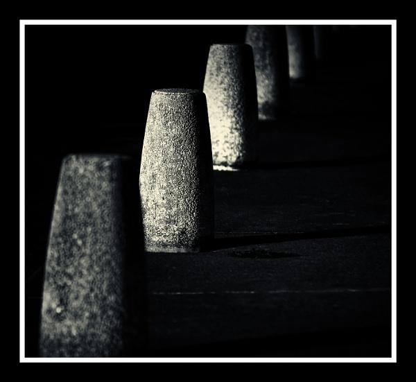 Bollards by Vambomarbleye