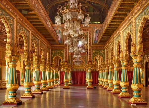 Wodiyar palace by YashS
