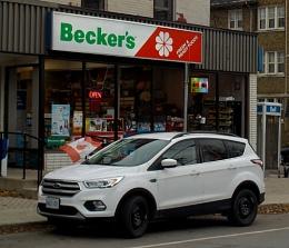 Becker's on Herkimer Street (my corner store) in Hamilton, ON