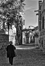 An Old Street in Talas, Kayseri.