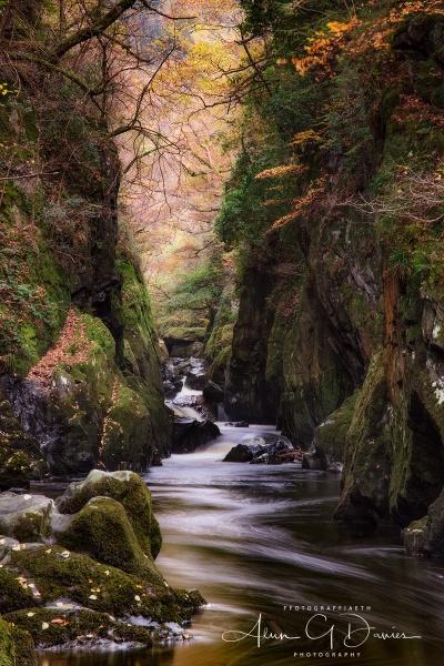 Ffos Anoddun / The Fairy Glen by Tynnwrlluniau