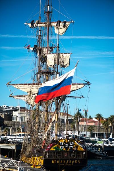 The Russian tall ship Estandart by HarrietH