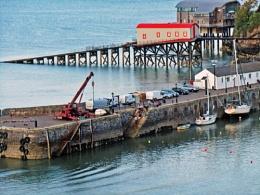 Tenby Harbour.