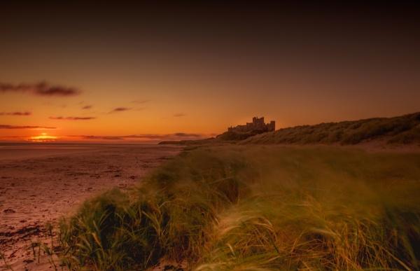 Bamburgh Dawn. by Mike43